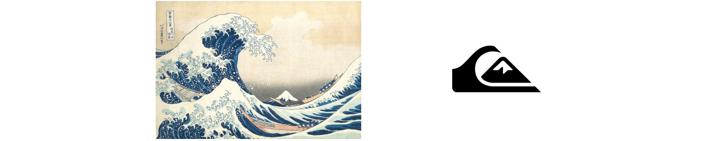 La grande onda di Kanagawa di Katsushika Hokusai