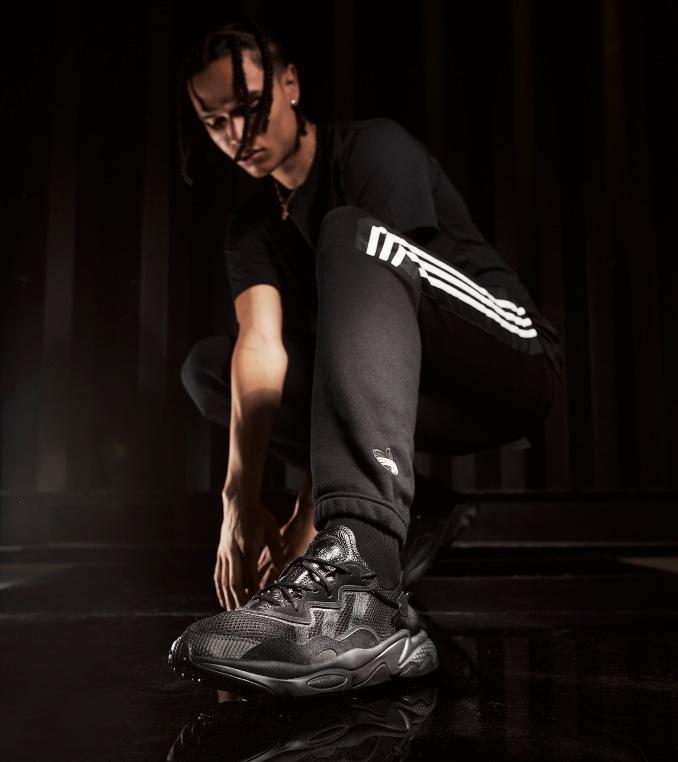 adidas ozweego nere